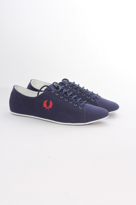 Fred Perry Alley canvas navy