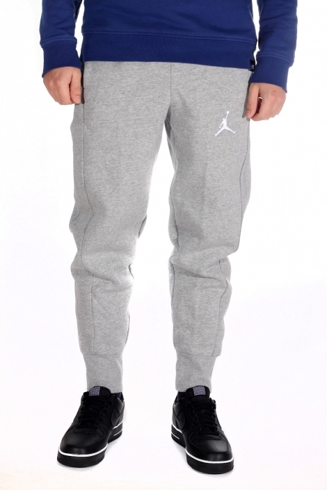 Штаны Jordan Flight grey heather/white